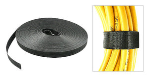 50' Roll of Velcro Cable Wrap, Black