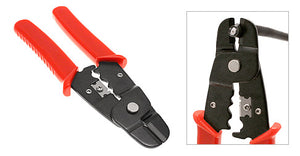 Coax Cable Cutter-Stripper for RG59 and RG6