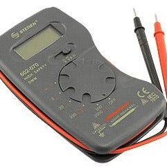 Pocket Size Digital Multi Meter with AC/DC Volts, Amps & Resistance Modes - Deep Surplus