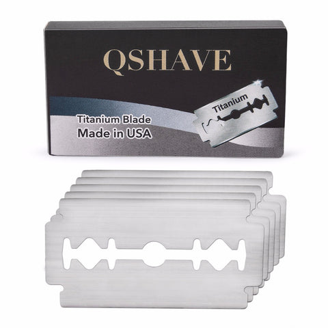 Double Edge Safety Razor Blade Blade From USA, 20 Blades