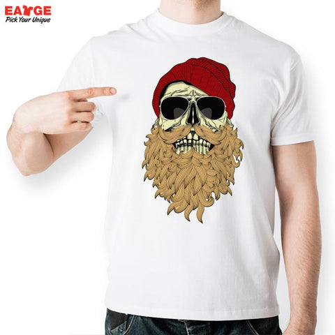 Men Beard  T Shirt