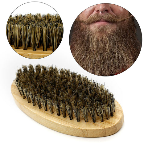 Good Quality Bamboo  Beard Brush