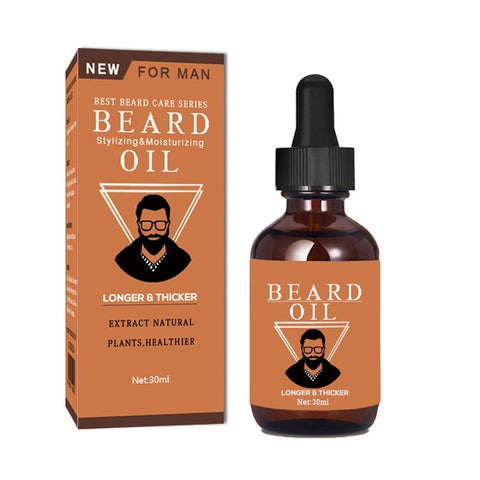 Beard Growth Thicker Essence Oil