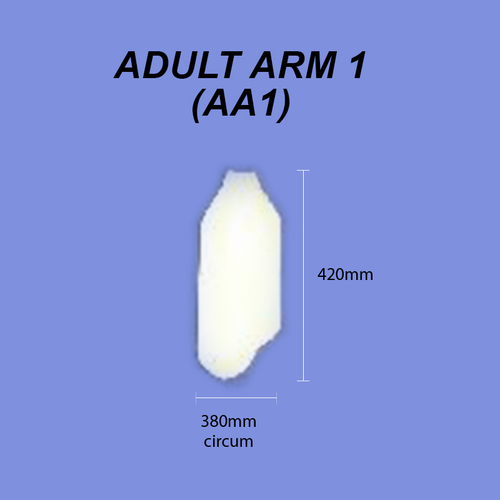 Adult Arm - Size 1 (Lower Arm)