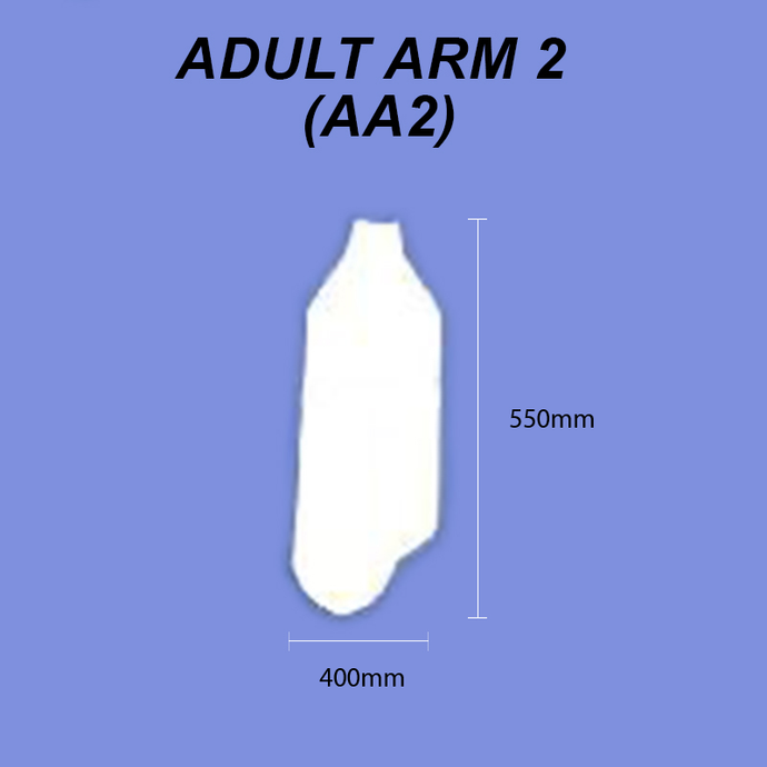 Adult Arm - Size 2 (Mid Arm)