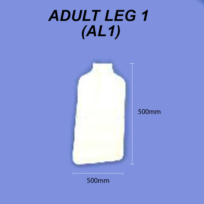 Adult Leg - Size 1 (Lower Leg)