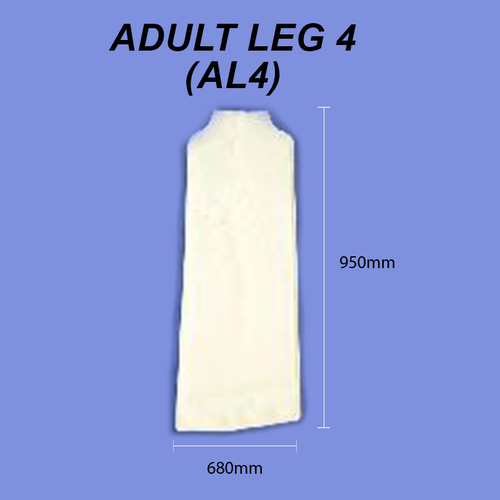 Adult Leg - Size 4 (XL Full Leg)