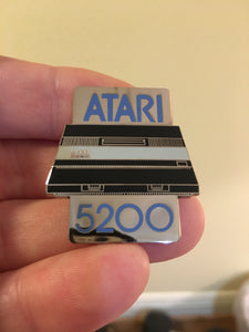 Atari 5200 Two Port Console Enamel Pin
