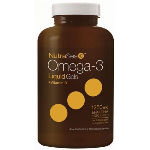 Nutrasea +d 2x concentrated (150 gélules)