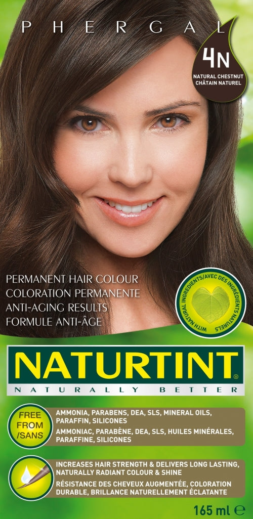 Coloration 4 n châtin naturel (170ml)