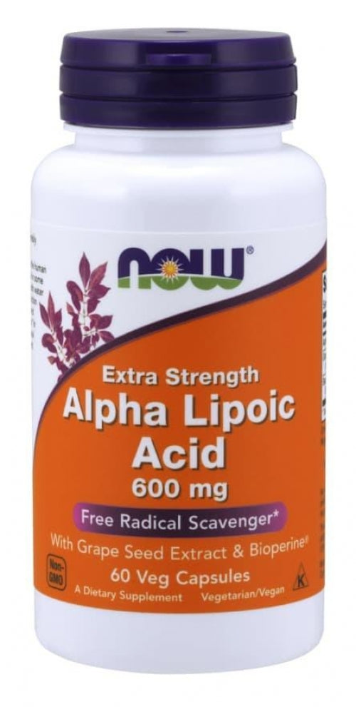 Acide alpha-lipoïque 600mg (60 caps)