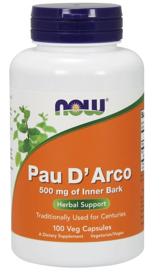Pau d'arco 500mg (100 caps)