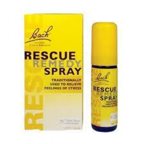 Fleur de bach-rescue remède spray (20ml)