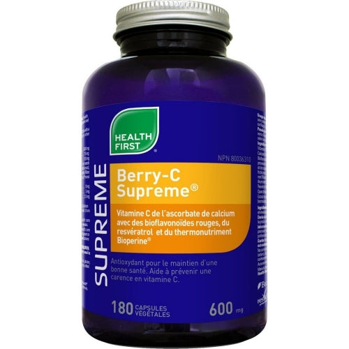 Berry-c supreme 600mg (180 caps)