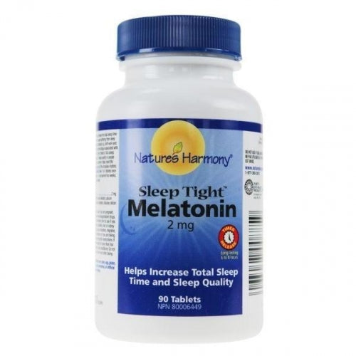 Melatonine 2 mg (90 capsules)