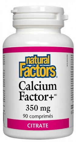 Calcium factor+ 350mg citrate (90 cos)