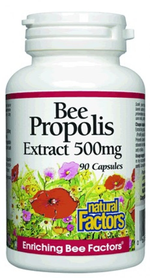 Propolis d'abeille 500mg (90 caps)