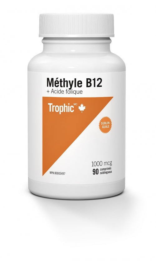 Methyl b12 avec acide folique (90 cos)