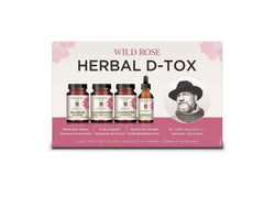 Wild rose herbal d-tox trousse