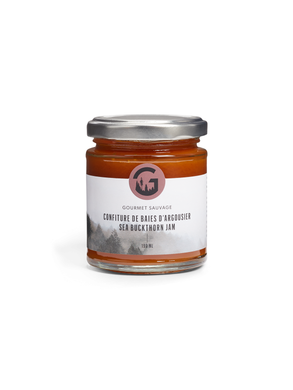 Confiture de baies d'argousier (190ml)