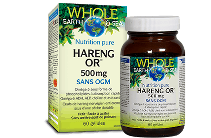 We&s nutrition pure hareng or 500mg (60 gélules)