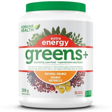 Green+ extra energy orange (399g)
