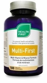 Multi-first multivitamine phytonutriments (100 cos)