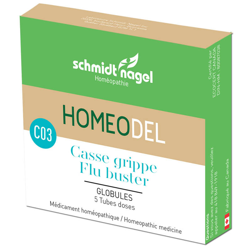 C03 casse grippe (5 tubes doses)