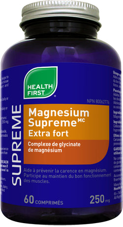 Magnesium supreme extra fort 250mg (60 cos)