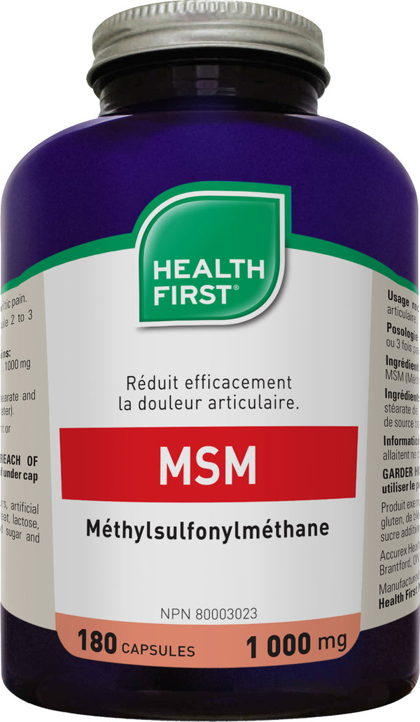 Msm 1000mg (180 caps)