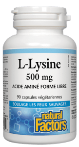 L-lysine 500mg (90 caps)