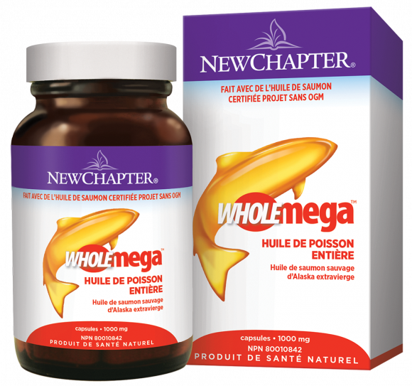 Wholemega 1000mg (120 gélules)