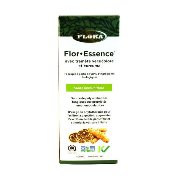 Flor.essence turkey tail et curcuma (500ml)