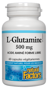 L-glutamine 500mg (60 caps)