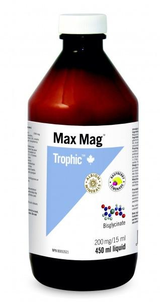 Max mag biglycinate (450ml)