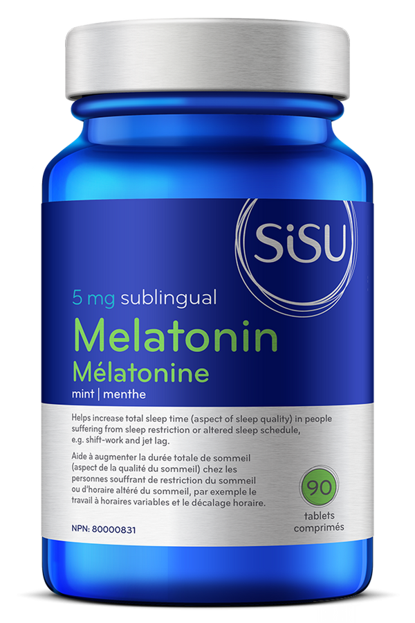 Mélatonine 5mg (90 comprimés sublinguales)