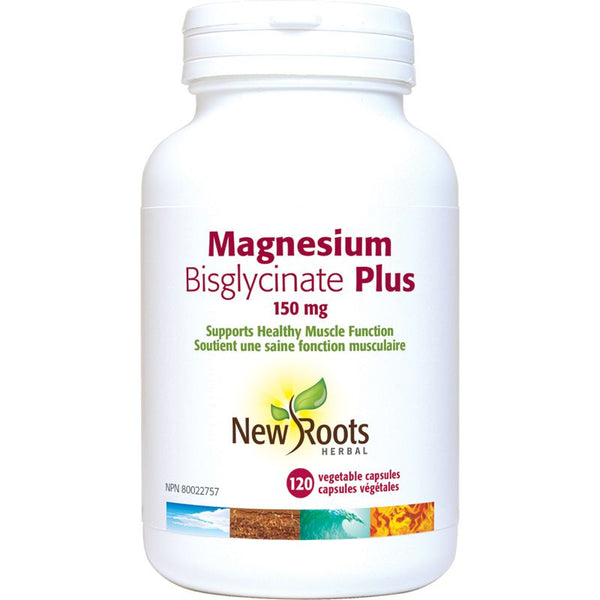 Magnesium biglycinate plus 150mg (120 caps)
