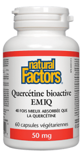 Quercetine bioactive emiq 50mg (60 caps)
