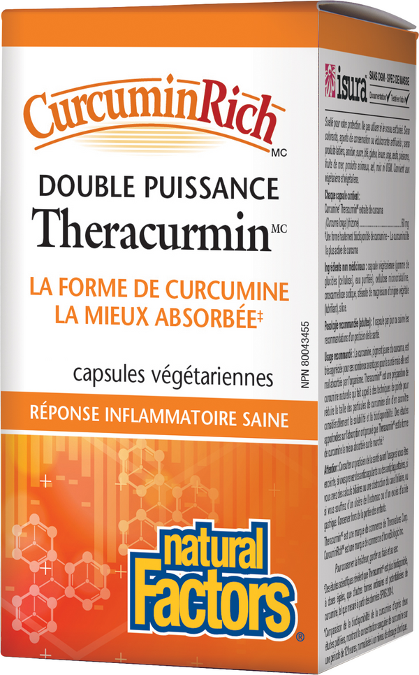 Theracurmin double puissance duo pack (120 caps+30)