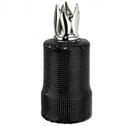 Lampe berger maille noire