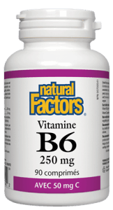 Vitamine b6 250mg plus 50mg c (90 cos)