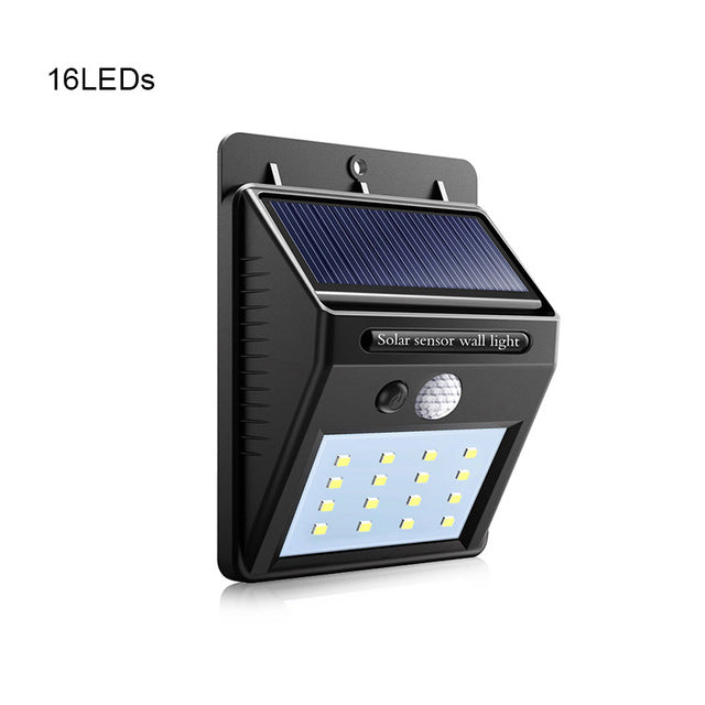 Regular (16 LED) - Solar Indoor/Outdoor Garden & Security Light with a Motion