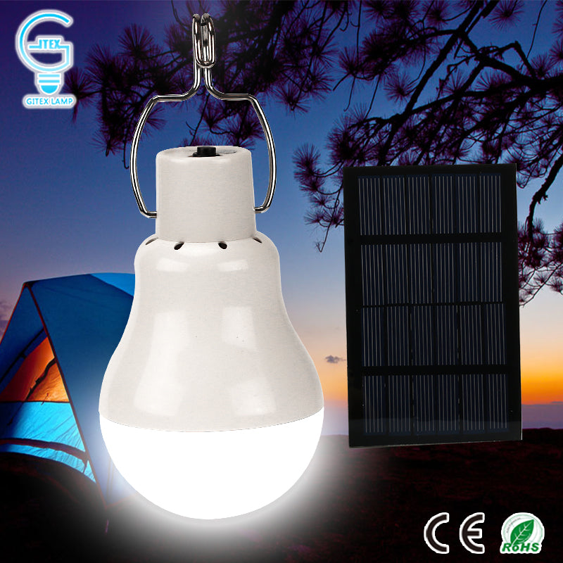 Rechargeable  Solar Light Bulb for Travel