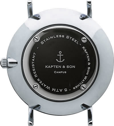 "Campus Silver ""Brown Leather"" - kapten & Son - South Africa"