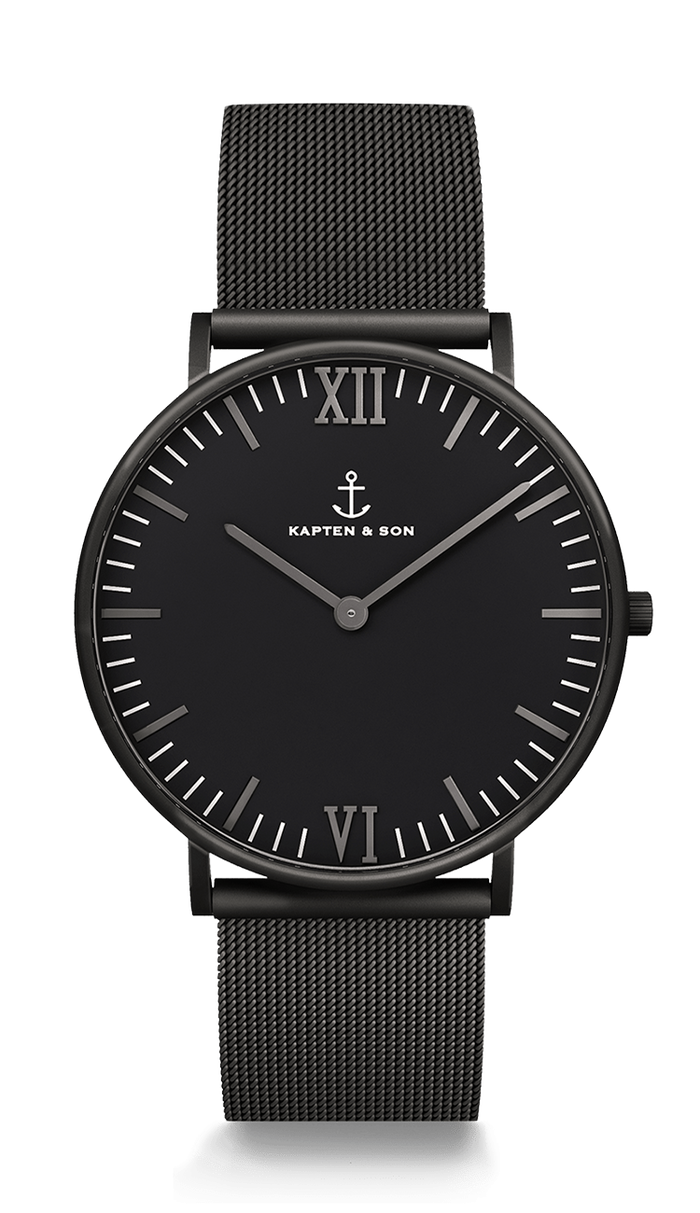 Campus Black Midnight Mesh - kapten & Son - South Africa