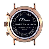 "Chrono Small ""Sand Woven Leather"" - kapten & Son - South Africa"