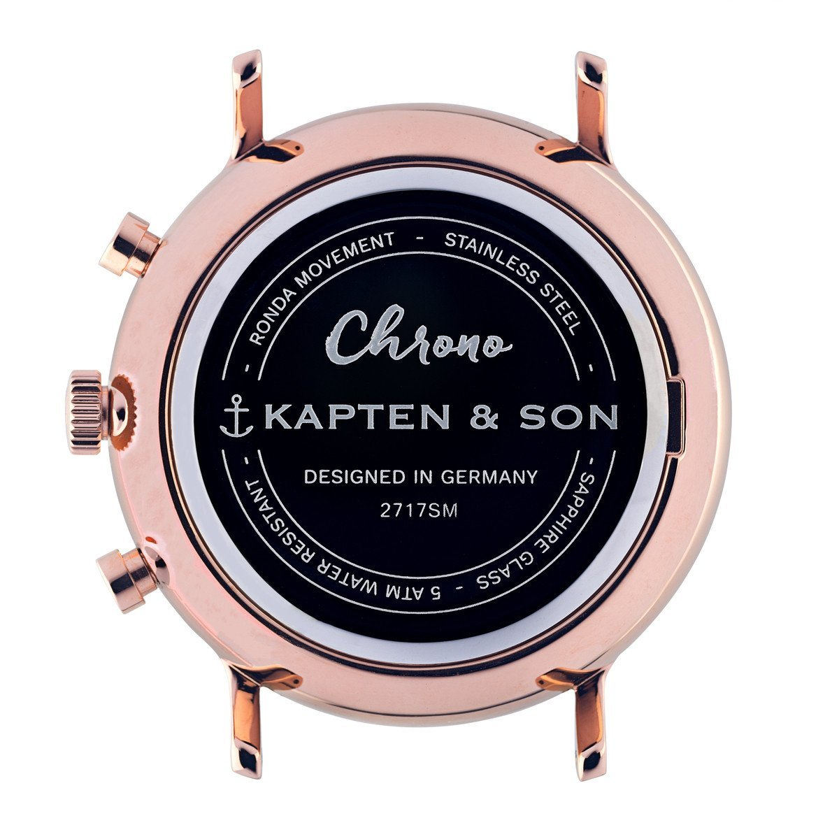 "Chrono ""All Black Woven"" - kapten & Son - South Africa"