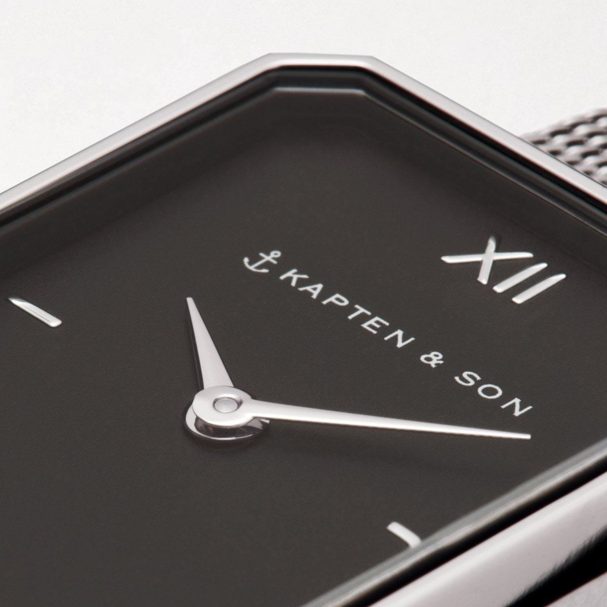 "Grace Silver ""Black Mesh"" - kapten & Son - South Africa"