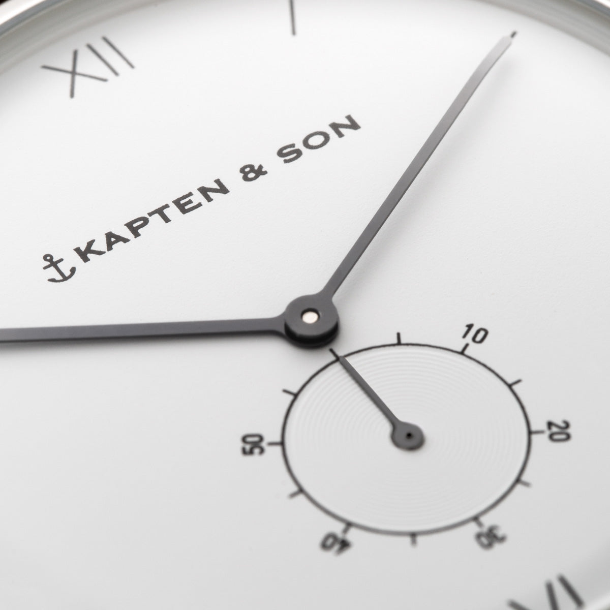 "Heritage Silver ""Brown Leather"" - kapten & Son - South Africa"