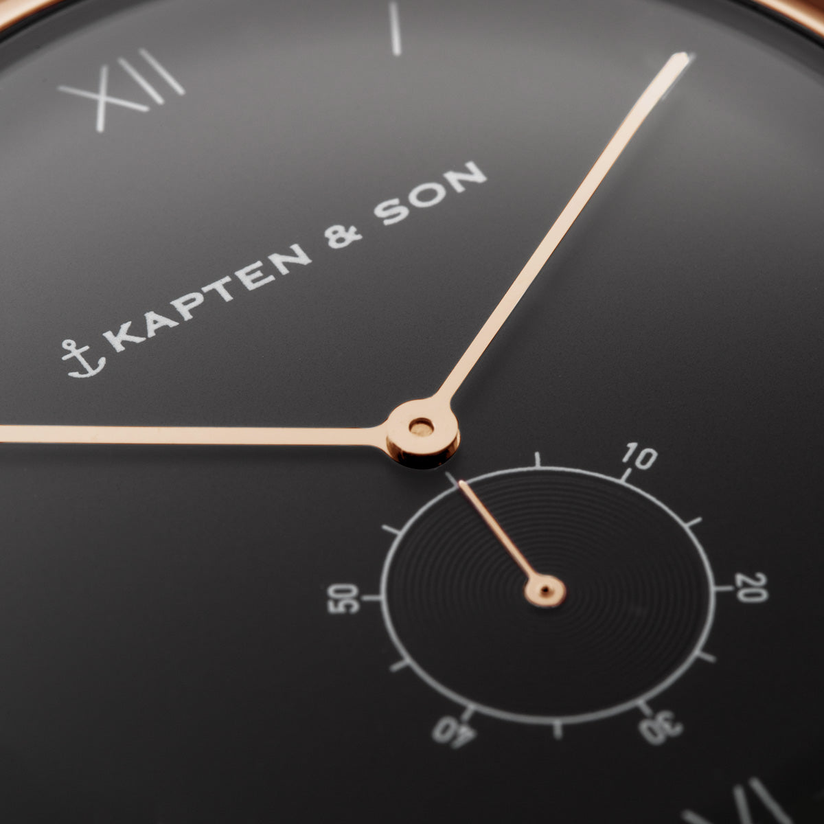 "Heritage ""Black Brown Leather"" - kapten & Son - South Africa"